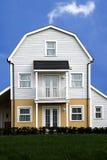 Nowożytni drewniani odziani mieszkania zdjęcie royalty free