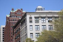 Nowożytni i historyczni budynki w Fort Worth zdjęcie royalty free