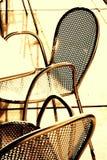 Nowożytni krzesła Zdjęcia Royalty Free
