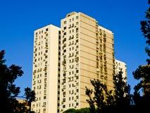 Nowożytni mieszkania mieści w Szanghaj obrazy stock