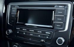 Nowożytni multimedialni przyrządów samochody Zdjęcia Royalty Free