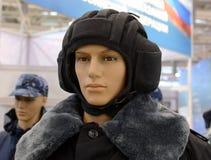 Nowożytni mundury Rosyjscy wojsko czołgiści obraz royalty free