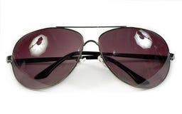 nowożytni okulary przeciwsłoneczne Obraz Stock