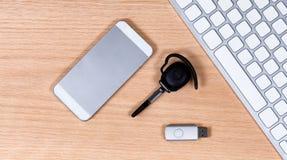 Nowożytni telekomunikacyjni przyrząda i przechowywanie danych zdjęcie royalty free