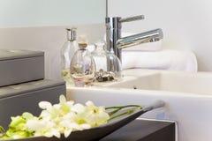 nowożytny łazienki dom miejski zdjęcie royalty free