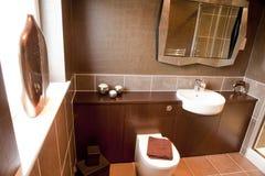 nowożytny łazienki wnętrze Fotografia Royalty Free