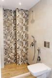 Nowożytny łazienki wnętrze, nowożytny współczesny projekt zdjęcie stock