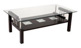 Nowożytny łomota szkło stół Zdjęcie Stock