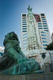 Nowożytny śródmieście Christchurch miasto w Nowa Zelandia zdjęcia stock