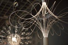 Nowożytny świecznika zbliżenie Zdjęcie Royalty Free