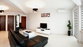 Nowożytny żywy pokój zdjęcie stock