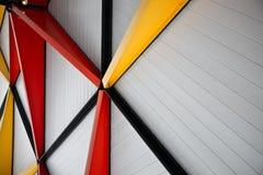nowożytny abstrakcjonistyczny architektoniczny tło Obraz Stock