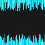 Nowożytny abstrakcjonistyczny geometrical tło od pionowo lampasa wzoru w bławych brzmieniach Zdjęcia Royalty Free