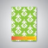 Nowożytny abstrakcjonistyczny szablonu układ dla broszurki Zdjęcia Royalty Free