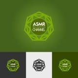 Nowożytny abstrakcjonistyczny wektorowy loga lub elementu projekt Best dla tożsamości i logotypów Prosty kształt Zdjęcia Stock