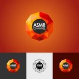 Nowożytny abstrakcjonistyczny wektorowy loga lub elementu projekt Best dla tożsamości i logotypów Prosty kształt Obrazy Stock