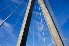 nowożytny architektura abstrakcjonistyczny most fotografia stock