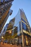 Nowożytny architektury miasto Londyn wiodący centre globalny Fotografia Stock