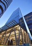 Nowożytny architektury miasto Londyn wiodący centre globalny Zdjęcie Royalty Free