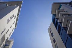 nowożytny architektury tło zdjęcia royalty free