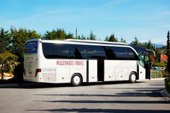 Nowożytny autobus dla turysty transportu Zdjęcia Royalty Free