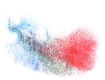 Nowożytny błękit, czerwona sztuka strażnika tekstura ilustracja wektor