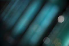 Nowożytny błękit zaświeca abstrakcjonistycznego tło Obrazy Stock
