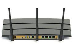Nowożytny bezprzewodowy interneta router Zdjęcia Stock