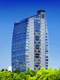 Nowożytny biurowy budynek mieszkalny w Szanghaj obrazy stock