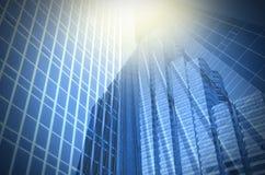 Nowożytny biznesowy buduje szkło drapacze chmur, Biznesowy pojęcie Obraz Stock