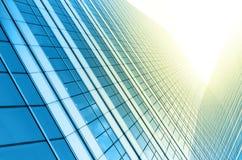 Nowożytny biznesowy buduje szkło drapacze chmur, Biznesowy pojęcie Zdjęcia Stock