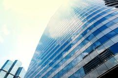 Nowożytny biznesowy buduje szkło drapacze chmur, Biznesowy pojęcie Zdjęcie Royalty Free
