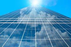 Nowożytny biznesowy buduje szkło drapacze chmur, Biznesowy pojęcie Obrazy Stock