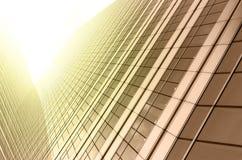 Nowożytny biznesowy buduje szkło drapacze chmur, Biznesowy pojęcie Fotografia Stock