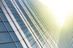 Nowożytny biznesowy buduje szkło drapacze chmur, Biznesowy pojęcie Fotografia Royalty Free