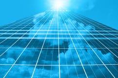 Nowożytny biznesowy buduje szkło drapacze chmur, Biznesowy pojęcie architektura Zdjęcie Royalty Free