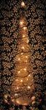 nowożytny Bożego Narodzenia drzewo Zdjęcie Royalty Free