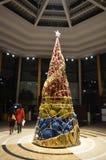 nowożytny Bożego Narodzenia drzewo Obrazy Royalty Free
