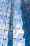 Nowożytny buduje szkło Zdjęcia Stock