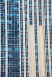 Nowożytny Buduje Szklany Błękitny okno Obraz Royalty Free