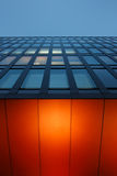 Nowożytny budynek biurowy w 'HafenCity' okręgu Hamburg Zdjęcie Royalty Free