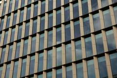 Nowożytny budynek biurowy z fasadą od szkła i stali Fotografia Stock