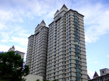 Nowożytny budynek mieszkalny w Szanghaj obraz stock