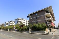 Nowożytny budynek mieszkalny w Xian mieście Obrazy Royalty Free