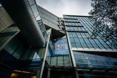 Nowożytny budynek przy Massachusetts Institute Of Technology, wewnątrz Fotografia Royalty Free