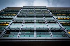 Nowożytny budynek przy Massachusetts Institute Of Technology, wewnątrz Obraz Royalty Free