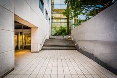 Nowożytny budynek przy Massachusetts Institute Of Technology, wewnątrz Zdjęcia Royalty Free