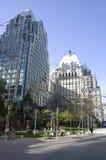 Nowożytny budynku śródmieście Vancouver obrazy stock