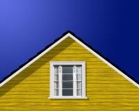 Nowożytny budynku dach, okno i obraz stock