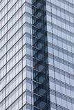 Nowożytny budynku drapacz chmur Skutka geometryczny tło Obrazy Stock